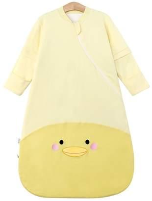 EsTong Unisex Baby SleepSack Wearable Blanket Cotton Sleeping Bag Long Sleeve Nest Nightgowns M