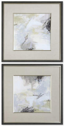 Uttermost Abstract Vistas 2-Pc. Framed Printed Wall Art Set