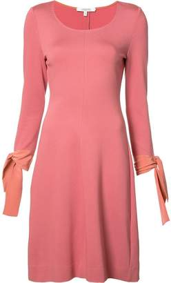 Schumacher Dorothee lace up sleeves dress