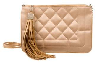 Chanel Satin Tassel Bag