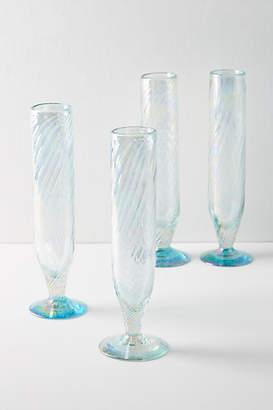 Anthropologie Narita Flutes, Set of 4