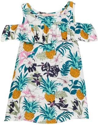 Paulinie Cold Shoulder Dress (Toddler & Little Girls)