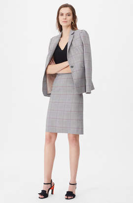 Rebecca Taylor Tailored Summer Check Jacket