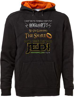 Star Wars BSW Unisex Harry Potter Lord of The Rings Jedi Fan Hoodie LRG Royal