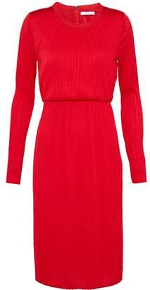 Max Mara Xiria Plissé-Jersey Dress