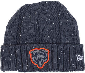 New Era Women's Cincinnati Bengals Frosted Cable Knit Hat