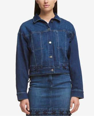 DKNY Laced Denim Jacket, Created for Macy's