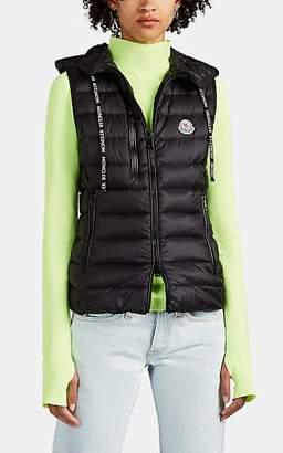 Moncler Women's Sucrette Hooded Puffer Vest - Black