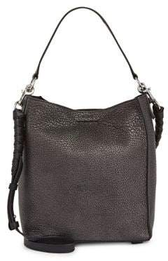 bbad33fd652a AllSaints Voltaire Leather North South Tote Bag