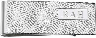 Asstd National Brand Personalized Snakeskin Pattern Money Clip Wallet