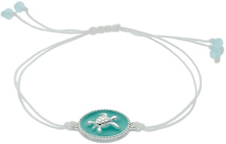 Lauren Conrad Mint Green Turtle Slipknot Bracelet