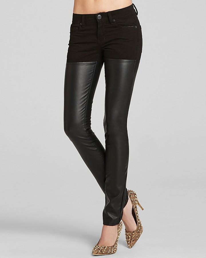 BCBGeneration Pants - Jasper Skinny Thigh High Faux Leather