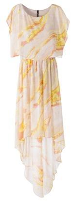 labworks Dolman-Sleeve Chiffon Maxi Dress - Assorted Colors