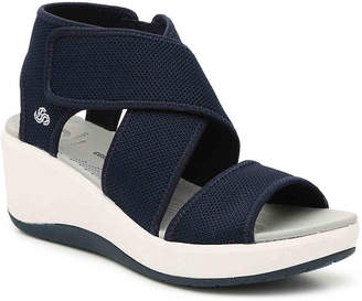 6617bd4647d9 Clarks Cloudsteppers by Step Cali Palm Wedge Sandal - Women s