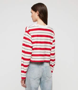 AllSaints Benno Stripe T-Shirt