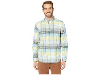 Nautica Long Sleeve Casual Warm Plaid Shirt
