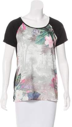 Maison Scotch Printed Short Sleeve T-Shirt
