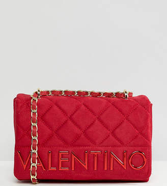 Mario Valentino Valentino By Valentino by Suedette Shoulder Bag With Chain Strap
