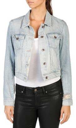 Women's Paige Vivienne Denim Jacket $229 thestylecure.com