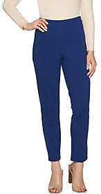 Joan Rivers Classics Collection Joan Rivers Petite Signature Ankle Pants w/Seam Detail
