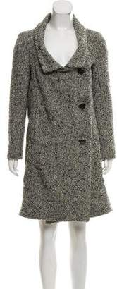 Marni Double-Breasted Bouclé Coat