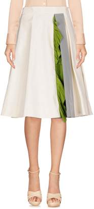 Prada Knee length skirts - Item 35359356XS