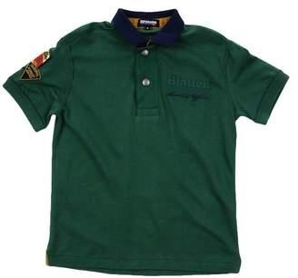 Blauer Polo shirt