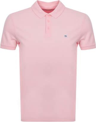 Calvin Klein Jeans Polo T Shirt Pink