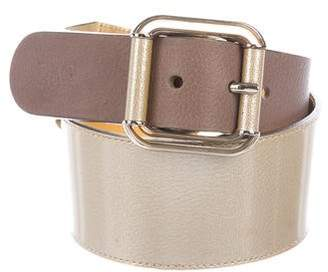 Dolce & Gabbana Metallic Hip Belt