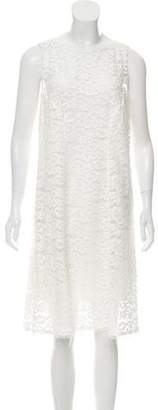Nina Ricci Sleeveless Lace Dress