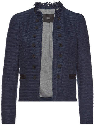 Steffen Schraut Tweed Blazer with Cotton