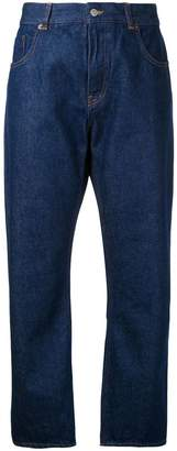 MM6 MAISON MARGIELA cropped straight jeans