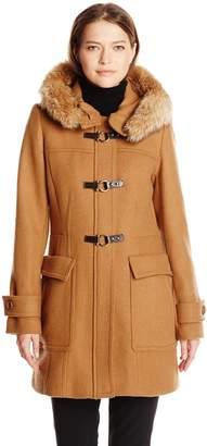 Trina Turk Women's Bailey Toggle Wool Coat
