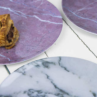 Bonnie and Bell Marble Design Melamine Plates