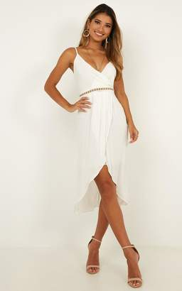 Showpo Because you love me dress in White - 10 (M) Dresses