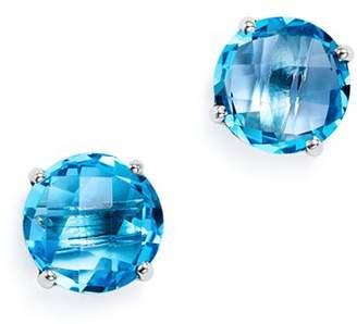 Bloomingdale's Blue Topaz Briolette Stud Earrings in 14K White Gold - 100% Exclusive