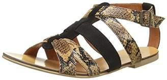 Pastelle Women's Kim Spartiates Sandals Brown Size: