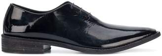 Haider Ackermann pointed toe Derby shoes