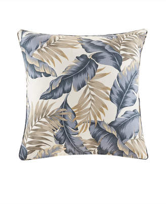 "Jla Home Madison Park Coco 20"" x 20"" Printed Leaf 3M Scotchgard Outdoor Square Pillow"