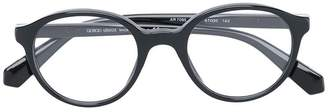 Giorgio Armani round shaped glasses