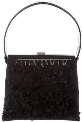 Valentino Flower Applique Bag