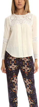 Sea Embroidered Lace Top