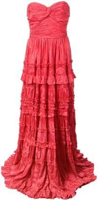 Alexis Allora evening dress