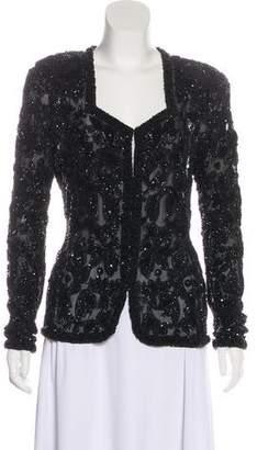 Donna Karan Silk Evening Jacket
