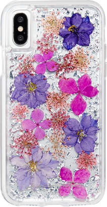 Case Mate Petals iPhone& X Case, Purple