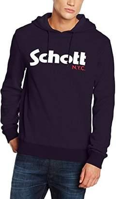 Schott NYC Men's Swhood Hoodie,(Manufacturer Size: M)