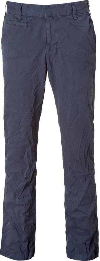 Save Khaki Marine Crinkle Twill Pants