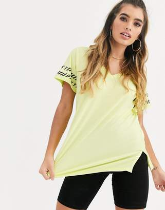 DKNY sporty t shirt dress with logo