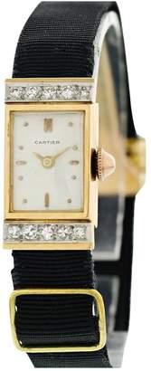 Cartier Vintage Black Pink gold Watches