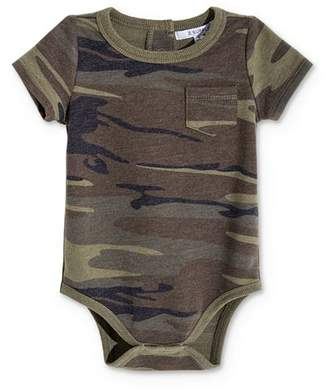 Z Supply Unisex Camo Print Bodysuit - Baby
